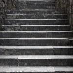 科托尔对黑山亚得里亚海海岸旧城中的楼梯 — 图库照片 #52777513
