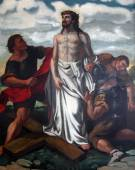 10th Stations of the Cross, Jesus is stripped of His garments — Stock Photo