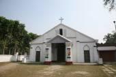 在 basanti,西孟加拉邦,印度天主教会 — 图库照片