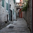 Street in old town of Herceg Novi, Montenegro — Stock Photo #52787669