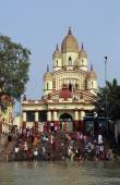 Dakshineswar kali chrám v Kalkatě — Stock fotografie