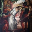 Постер, плакат: 1st Stations of the Cross Jesus is condemned to death