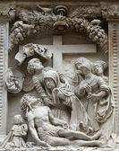 基督,St Stephen 大教堂在维也纳的哀叹 — 图库照片