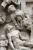 Lamentation of Christ, St Stephen's Cathedral in Vienna — Foto de Stock