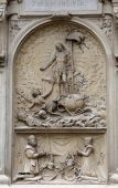 Resurrection of Christ, St. Stephens Cathedral in Vienna — Stock Photo