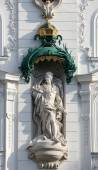 King Frederick III, Regensburger Hof, Wustenrot Building in Vienna — Stock Photo