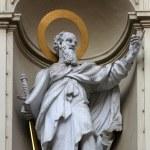 St. Paul the Apostle, Church of Saint Peter in Vienna — Stock Photo #61585497
