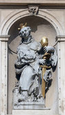 Saint Barbara, Jesuits church in Vienna — Stock Photo