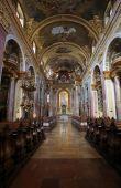 Jesuits church in Vienna — Stock Photo