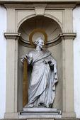 St. Simon the Apostle, Church of Saint Peter in Vienna — Stock Photo