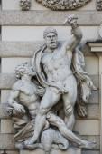 Hercules statue at the Royal Palace Hofburg in Vienna — Stock Photo