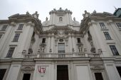 Church of the nine choirs of angels in Vienna — Stock Photo