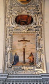 Virgin Mary and St. John under the cross — Foto Stock