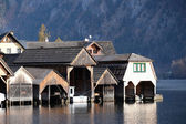 Hallstatt village, Salzkammergut of Austria — Stock Photo