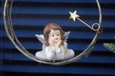 Angel, Christmas decoration — Stock Photo