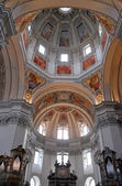 Fragment of the dome in Salzburg Cathedral — Photo