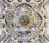 The Lamb og God, fragment of the dome of Salzburg Cathedral — Stock Photo