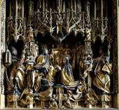 Coronation of the Virgin Mary — Stock Photo