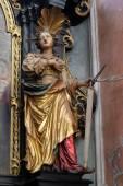 Saint apollonia — Stockfoto