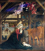 Birth of Jesus — Stock Photo