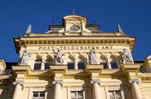 The post office from the imperial times of Austria in the town of Bad Ischl — Stock Photo