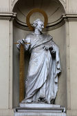 St. Simon the Apostle, Church of Saint Peter in Vienna — Stok fotoğraf