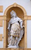 Mars, Roman god of war, Arsenal (Zeughaus) in Graz, Styria, Austria — Stockfoto