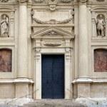 ������, ������: Portal of St Catherine church and Mausoleum of Ferdinand II Graz Austria