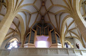 The organ in the choir, Franciscan Church in Graz, Styria, Austria — Photo