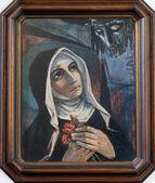 Saint Rita of Cascia — Zdjęcie stockowe