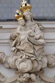 Vierge Marie avec l'enfant Jésus — Photo