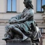 Archduke Johann Fountain, allegorical representation of the river Enns, Hauptplatz square, Graz, Austria — Stock Photo #65526179