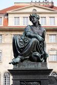 Archduke Johann Fountain, allegorical representation of the river Drau, Hauptplatz square, Graz, Austria — Stock Photo
