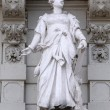 Statue of Commerce, allegorical representation, detail of Rathaus Town Hall, Graz, Austria — Stock Photo #65544731