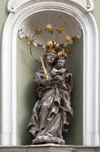 Virgin Mary with baby Jesus — Stock Photo