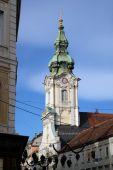 Parish Church of the Holy Blood in Graz, Austria — Stock Photo