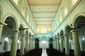 Church in Loreto Convent where Mother Teresa lived before the founding of the Missionaries of Charity in Kolkata — Stock Photo