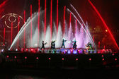 International show Circle Of Light in Moscow — Stock Photo
