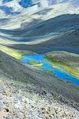 Lake in Himalaya mountains. — Stockfoto