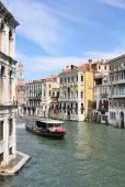 Grand Canal in Venice from Rialto Bridge — Stock Photo