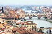 Ponte Vecchio in Florence, Italy — Stock Photo