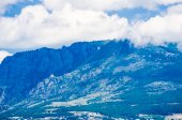 Vista del paisaje de montaña en crimea — Foto de Stock