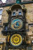 Astronomical Clock in the Old Town of Prague — Stockfoto