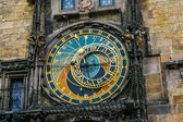 Astronomical Clock in the Old Town of Prague — Stock Photo