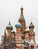 Cattedrale di san basilio a mosca, russia — Foto Stock