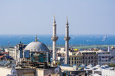 Top view on mosque in Istanbul — Stockfoto