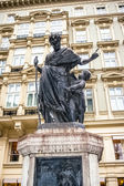View on statue in Vienna — Stockfoto