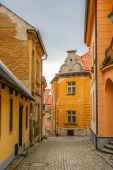 View on old street in Tabor — Stock Photo