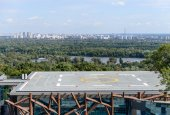 View of the heliport — Stock Photo
