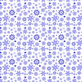 Snowflakes on white background — Stock Vector